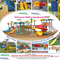 Arihant has evolved into a full range of children Playground equipment, Water Park Equipment, Amusement Rides as well as it owns and operates its own water park called