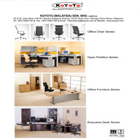 We created and manufactured a series of Office System Furniture to meet the increasing market demand.
